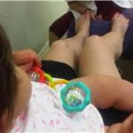 New Mom Beauty: Take your baby to a pedicure.