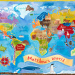 GIVEAWAY! Oopsy Daisy World Map (a $300 value!)