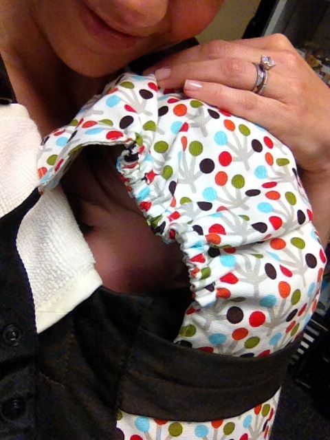 Accessories! Button-on teething straps & protective hood.