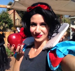 """Me. As Snow White (for Hallmark Channel's """"Home & Family"""" special)."""