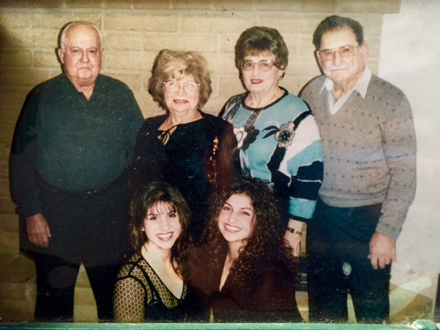 1995-ish... My grandparents, my sister and me.