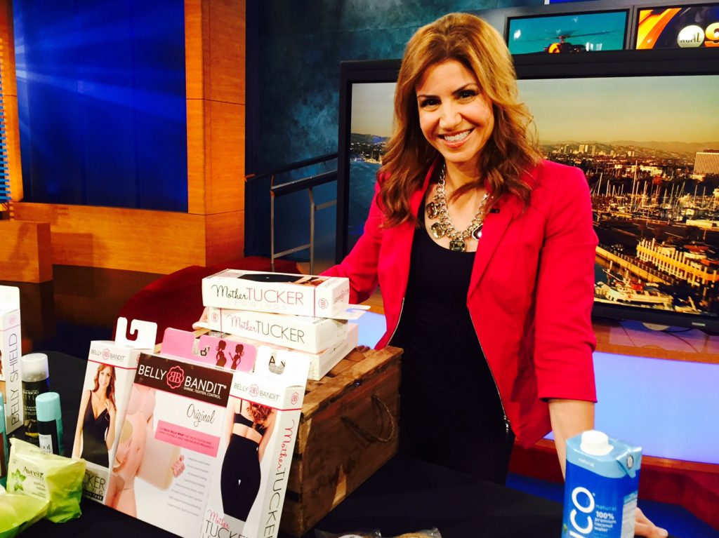 jill-simonian-kcal-los-angeles-working-mom-challenges-belly-bandit-tv-segment