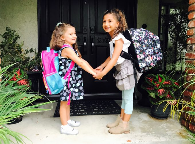 Back to School: When a backpack freaks you out.