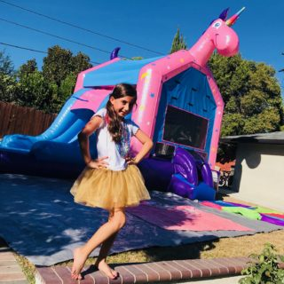 kids-birthday-party-unicorn-bouncer-slide-magic-jump-rentals