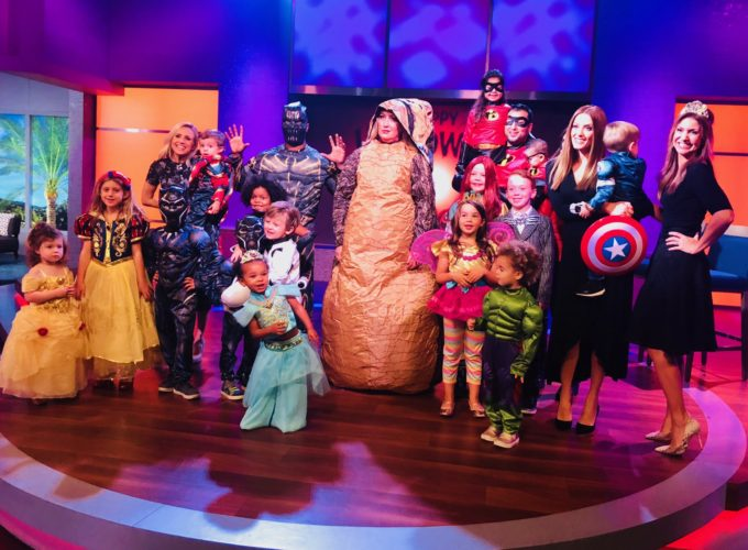 Shop Disney for Halloween {KTLA-5 Los Angeles News}