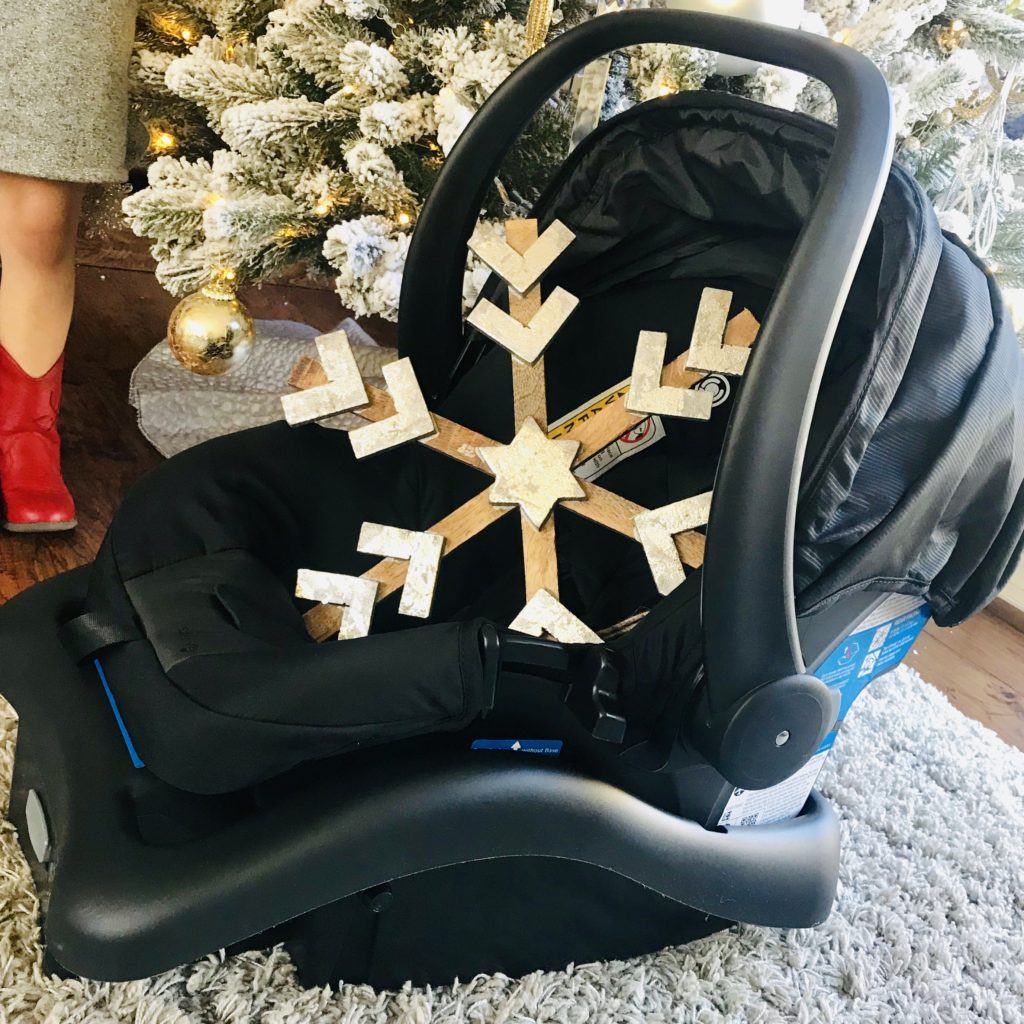 FAB Mom gift guide Dorel Juvenile RIVA Flex Lightweight Travel System carseat
