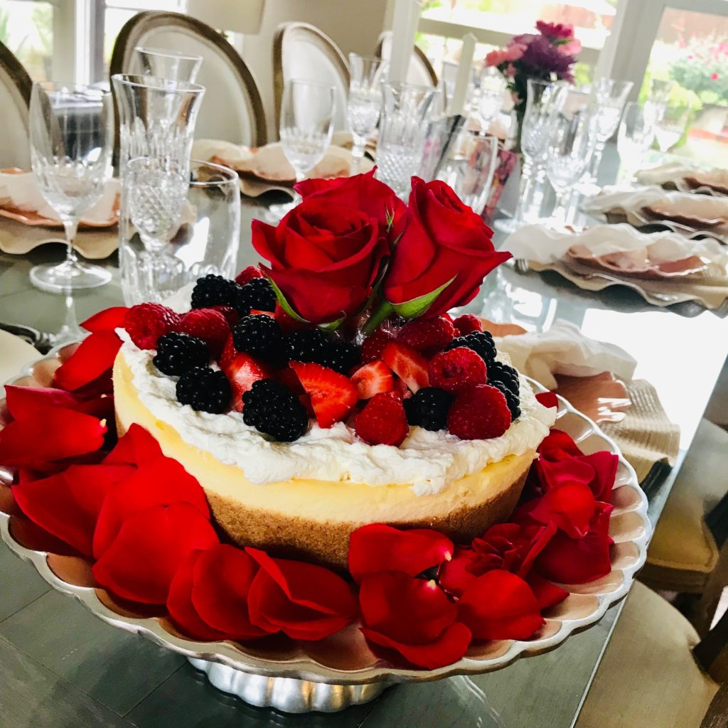 mothers-day-dessert-rose-cheesecake