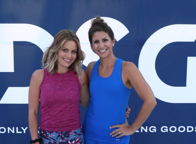 Candace Cameron Bure talks toning up, tuning out hate & being a tough mom.